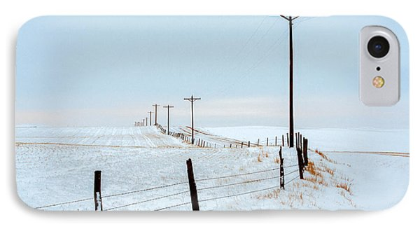 Bend In The Road IPhone Case by Todd Klassy