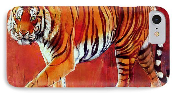 Bengal Tiger  IPhone Case by Mark Adlington