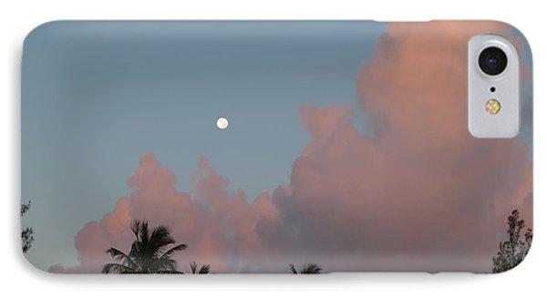 Bermuda Morning Moon IPhone Case by Richard Reeve