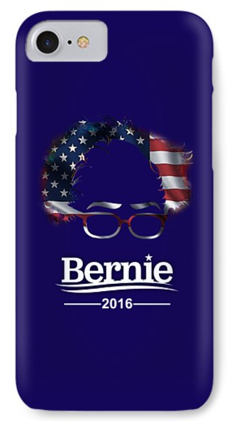 Bernie Sanders 2016 IPhone Case by Marvin Blaine