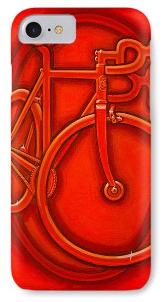 Bespoked In Orange  IPhone Case by Mark Howard Jones