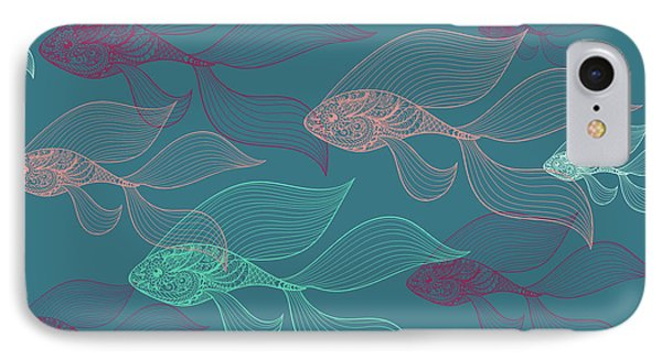 Beta Fish  IPhone Case by Mark Ashkenazi