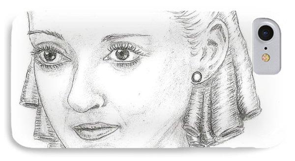Bette Davis IPhone Case by Steven White