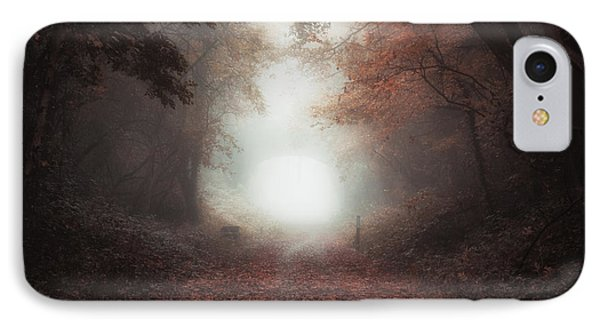 Between Autumn And Winter IPhone Case by Chris Fletcher