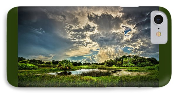 Between Storms IPhone Case by Marvin Spates