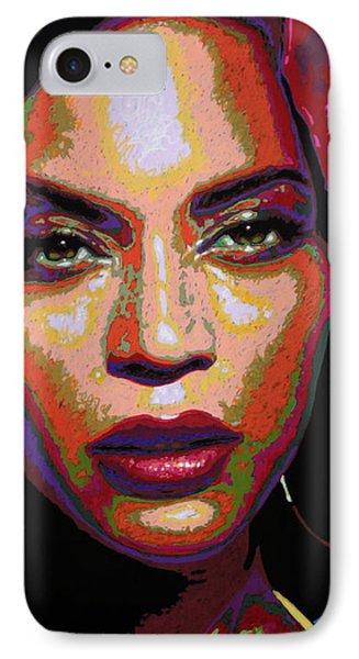 Beyonce IPhone Case by Maria Arango