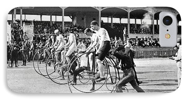 Bicycle Race, 1890 Phone Case by Granger
