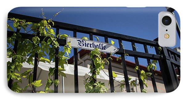 Bierhalle IPhone Case by Darrell Foster