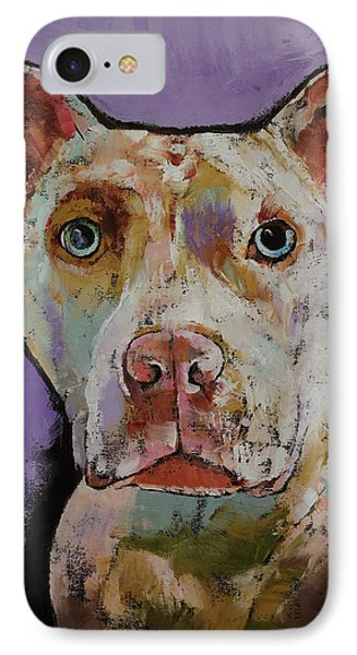 Big Bully IPhone Case by Michael Creese