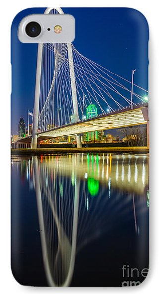 Big D By Night IPhone Case by Inge Johnsson