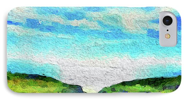 Big Sur IPhone Case by Joan Reese