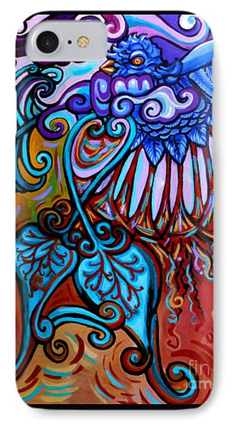Bird Heart II IPhone Case by Genevieve Esson