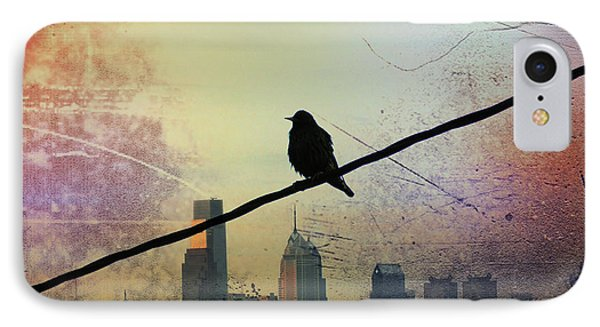 Bird On A Wire Phone Case by Bill Cannon