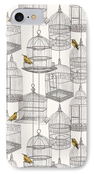Birdcages IPhone Case by Stephanie Davies