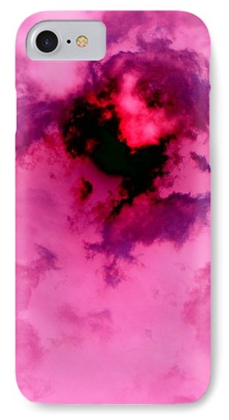 Birth Of A Cloud Phone Case by Florene Welebny