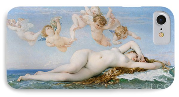 Birth Of Venus IPhone Case by Alexandre Cabanel