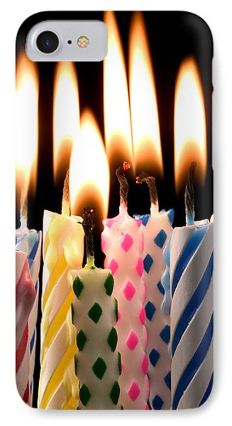 Birthday Candles Phone Case by Garry Gay