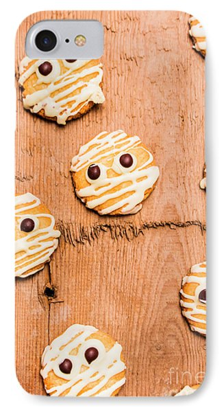 Biscuit Gathering Of Monster Mummies IPhone Case by Jorgo Photography - Wall Art Gallery