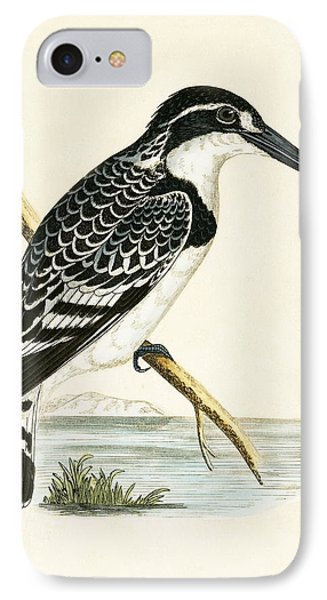 Black And White Kingfisher IPhone 7 Case by English School