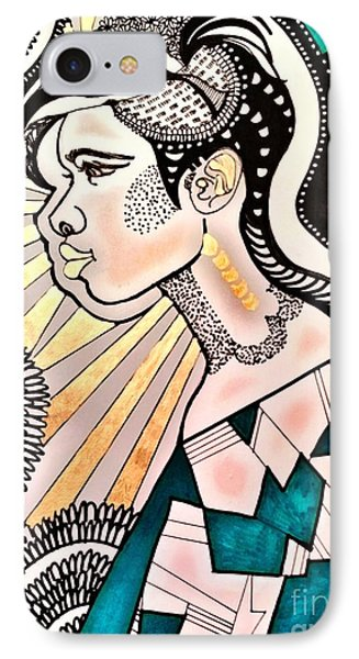 Black Beam IPhone Case by Amy Sorrell