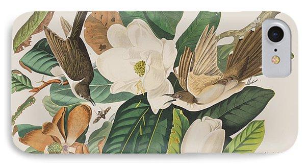 Black Billed Cuckoo IPhone 7 Case by John James Audubon