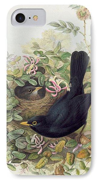 Blackbird,  IPhone Case by John Gould