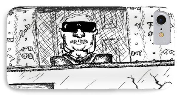 Blind Eye Glass Repair Phone Case by Jera Sky
