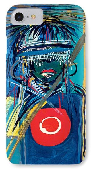 Blind To Culture IPhone Case by Oglafa Ebitari Perrin