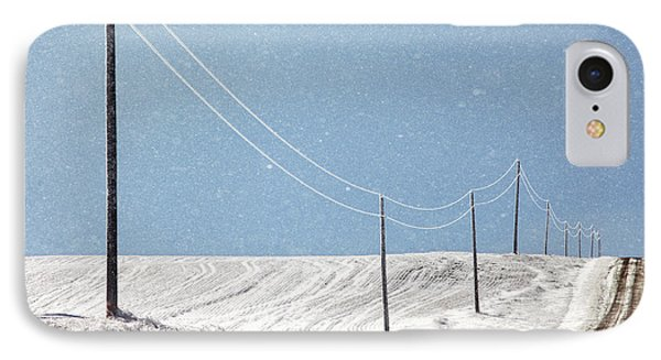 Blizzard Blue IPhone Case by Todd Klassy