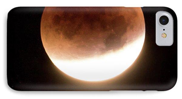 Blood Moon Eclipse IPhone Case by Wim Lanclus