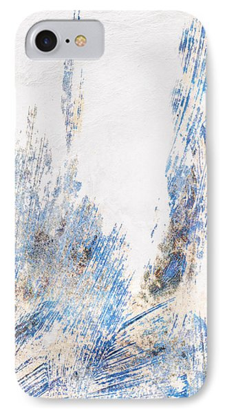 Blue And White Art - Ice Castles - Sharon Cummings IPhone Case by Sharon Cummings