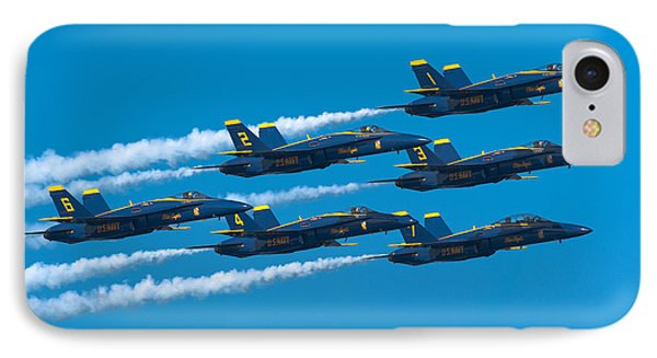 Blue Angels IPhone Case by Sebastian Musial
