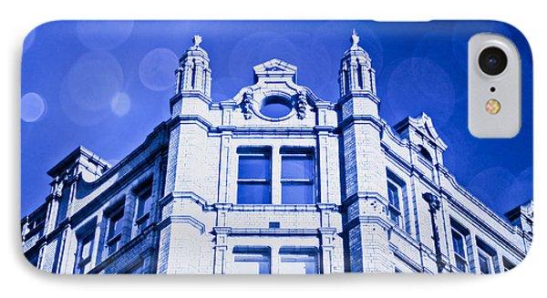 Blue Fantasy IPhone Case by Tom Gowanlock