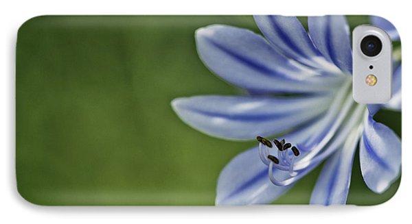 Blue Flower IPhone Case by Nailia Schwarz