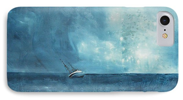 Blue IPhone Case by Kristina Bros