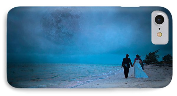 Lunar Dawn IPhone Case by Betsy Knapp