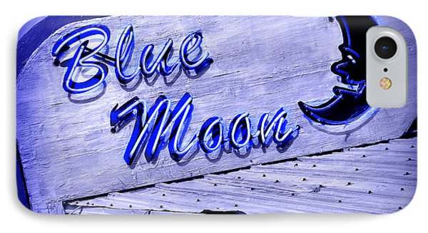 Blue Moon Phone Case by Perry Webster
