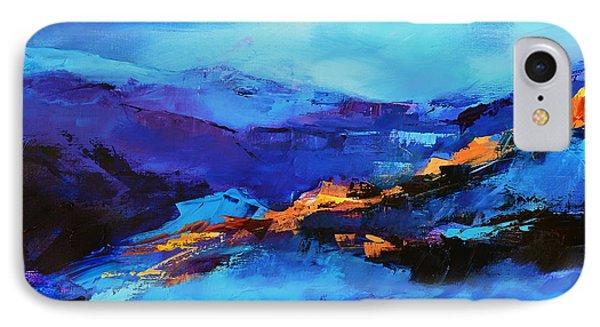 Blue Shades IPhone Case by Elise Palmigiani