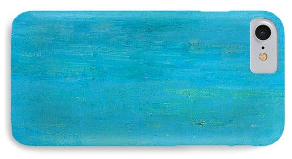 Blue Space IPhone Case by Habib Ayat