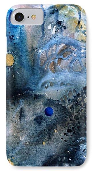 Blue Star Rising Phone Case by Lee Pantas