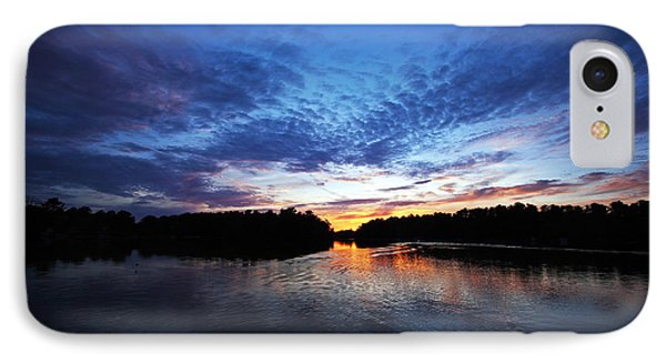 Blue Sunset Phone Case by Ty Helbach