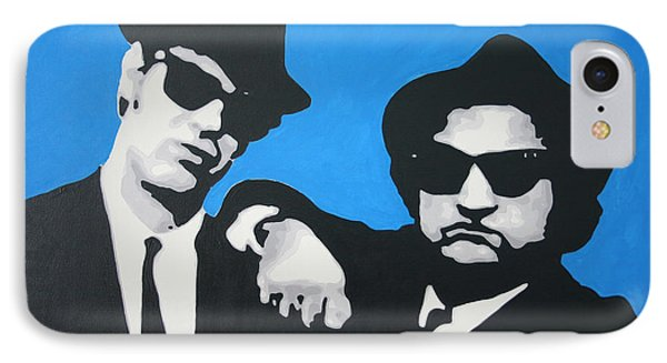 Blues Brothers 2013 IPhone Case by Luis Ludzska