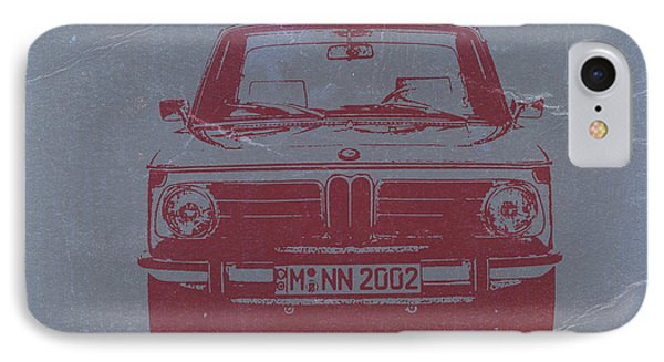 Bmw 2002 IPhone Case by Naxart Studio