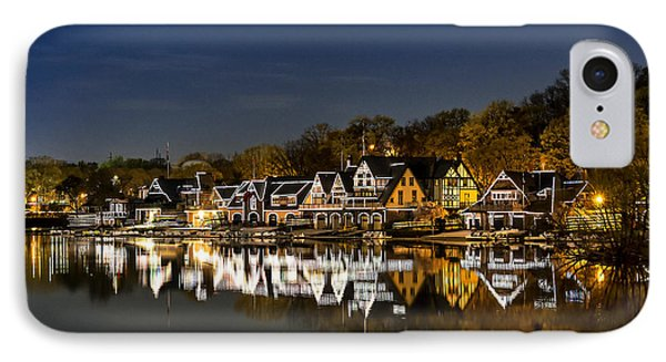 Boathouse Row IPhone 7 Case by John Greim