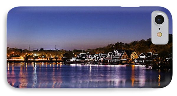 Boathouse Row Philly Phone Case by John Greim