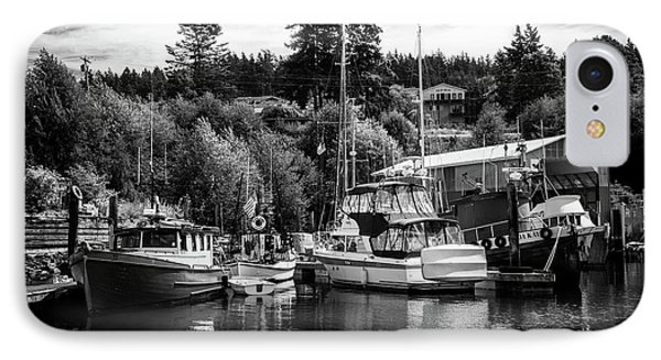 Boats At Lovric's Sea Craft, Washington IPhone Case by TL Mair