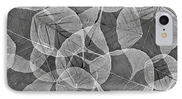 Bodhi Tree Leaves IPhone Case by Tim Gainey
