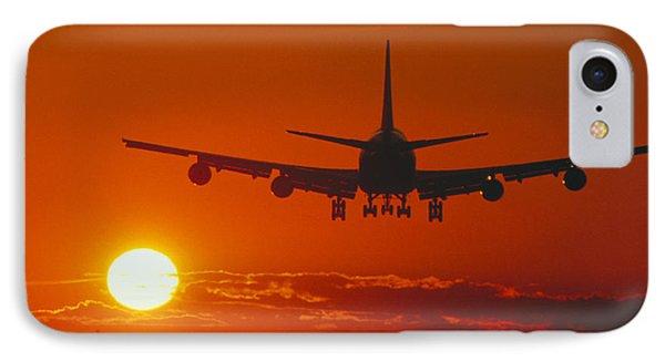 Boeing 747 IPhone Case by David Nunuk