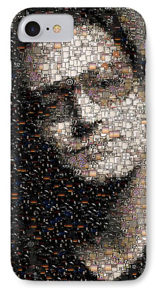 Bono U2 Albums Mosaic IPhone Case by Paul Van Scott
