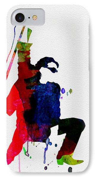 Bono Watercolor IPhone 7 Case by Naxart Studio